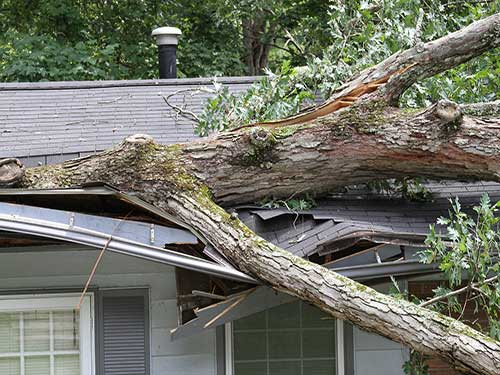 Storm Damage Feller Roofing Of New Braunfels